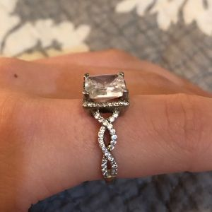Charmed Aroma diamond ring- appraised at $200!